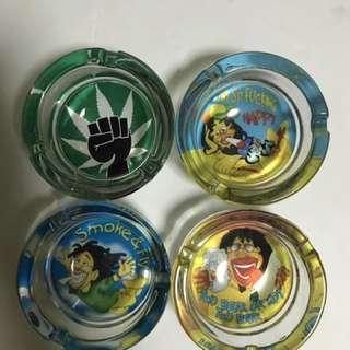 Rasta ashtray