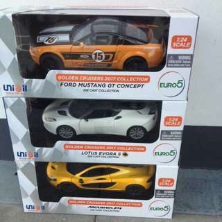 2018 Unioil Diecast cars