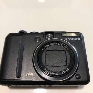 Canon G9 camera