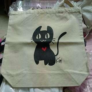 Wego 貓貓 布袋