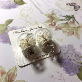 韓國波波耳環