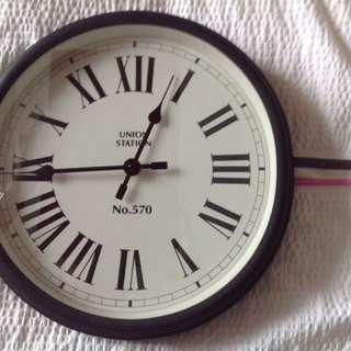 Pottery Barn wall clock