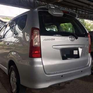 Toyota Avanza 1.3 Auto 2006 RM25,500