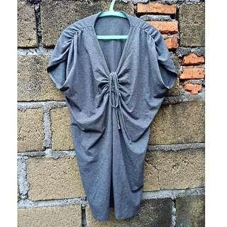 Grey Loosey Dress