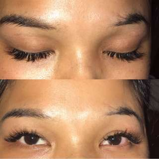 Lashes Extensions !