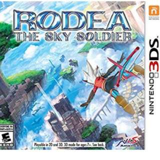 3DS Game: Rodea the Sky Soldier