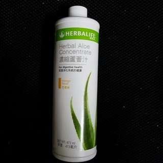 herbalife aloe concentrate 蘆薈汁