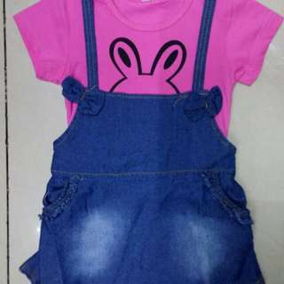jumper dress for kids age:1 to 3yrs old SIZES:110 120 130 140