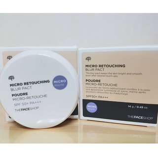 The Faceshop Micro Retouching Blur Pact