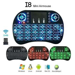 Wireless Air Mouse Touch Pad Keyboard