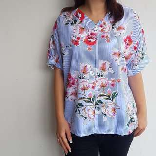 Zara flower top