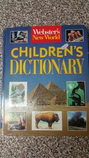 Webster's New World Children's Dictionary Hardcover Book