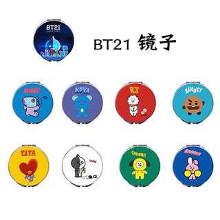 BTS BT21 Mirror (Preorder)