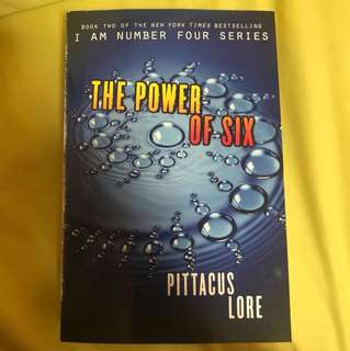 The power of six - Pattacus Lore