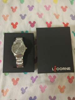 🚚 LICORNE力抗經典腕錶-灰x小(LI038LWUI)