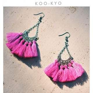 Alloy Tassels Earrings