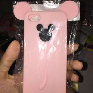 Silicon mickey pink