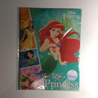 Disney Princess Just Like A Princess pop up coloring