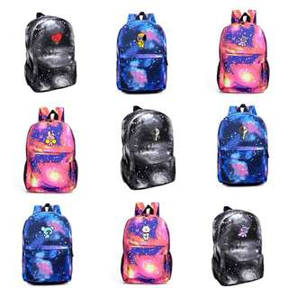 BTS BT21 Colourful Backpack / Bag (Preorder)