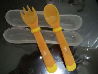 Baby Fork and Spoon