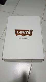 Levi's limited edition gift box