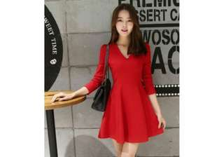 Dress31249 Red