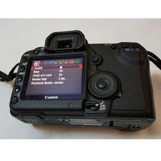 Canon 5D2. 5D mark ii. 5D mark 2 body with only 7K shutter count.