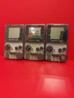 Transparent Purple Gameboy Color