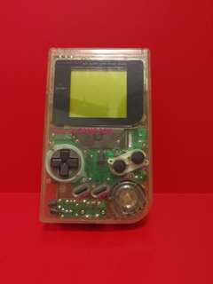 Transparent Nintendo Gameboy DMG