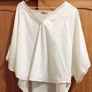 雪紡罩衫#罩衫#雪紡#上衣#女裝#大尺碼
