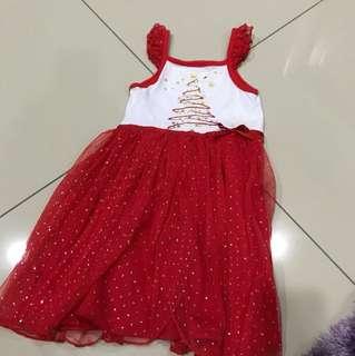 Xmas glittery dress