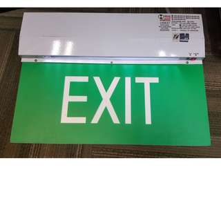Exit light (LED)