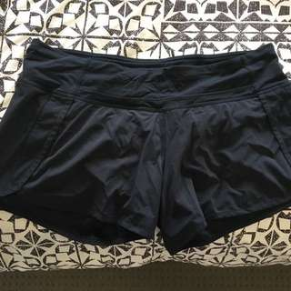 Lululemon Size 8 (au12) Run Times Shorts