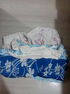 Blanket cover and bedsheet
