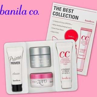 BANILA CO. The Best Collection 4in1 Kit