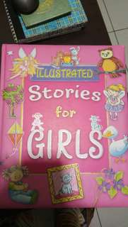 Illustrated stories for girls