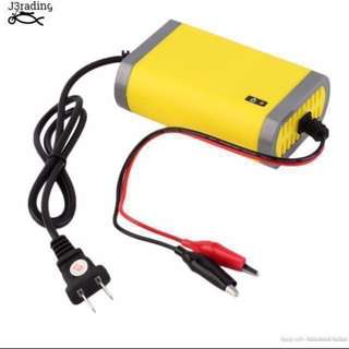 [FREE DELIVERY] Motorcycle Battery Charger