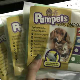Pet pampers size XS