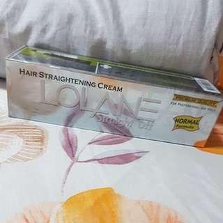Lolane Hair Straightening Cream