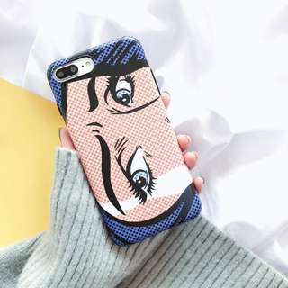 (包郵) pop art phone case