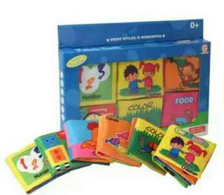 6in1 Baby Book Set