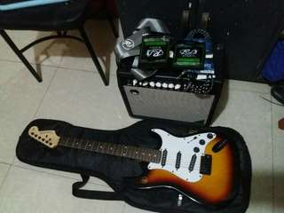 electric guitar set