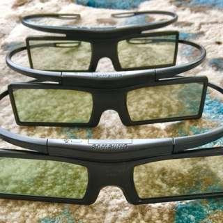 三星3D眼鏡三幅