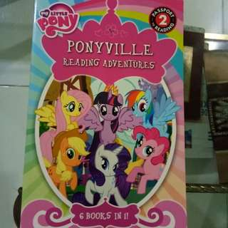 Little Pony book (6 books in one)