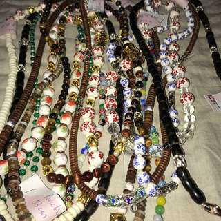 Genuine jade/crystal necklace