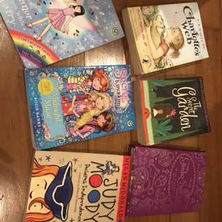 Selection of children books