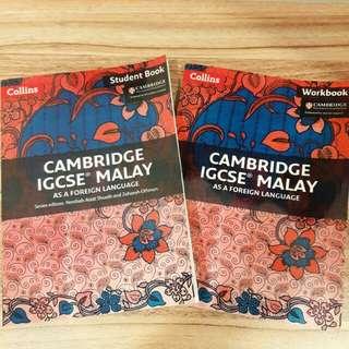 [PERFECT BINDING] Cambridge IGCSE Malay as a Foreign Language STUDENT BOOK+WORKBOOK