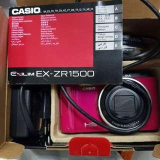 Casio ZR1500 vividpink