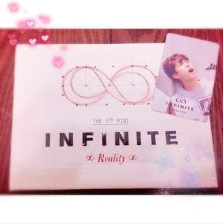 INFINITE the 5th mini 「REALITY」