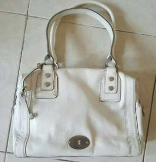 Authentic Preloved Fossil Marlow White